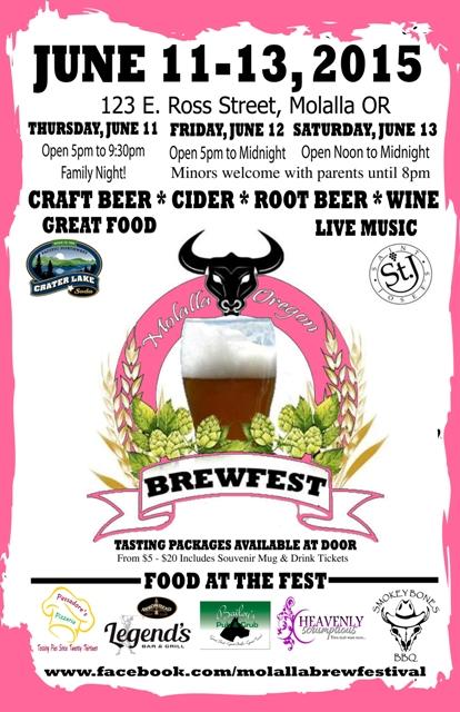 Molalla Brewfest 2015 Poster - Web