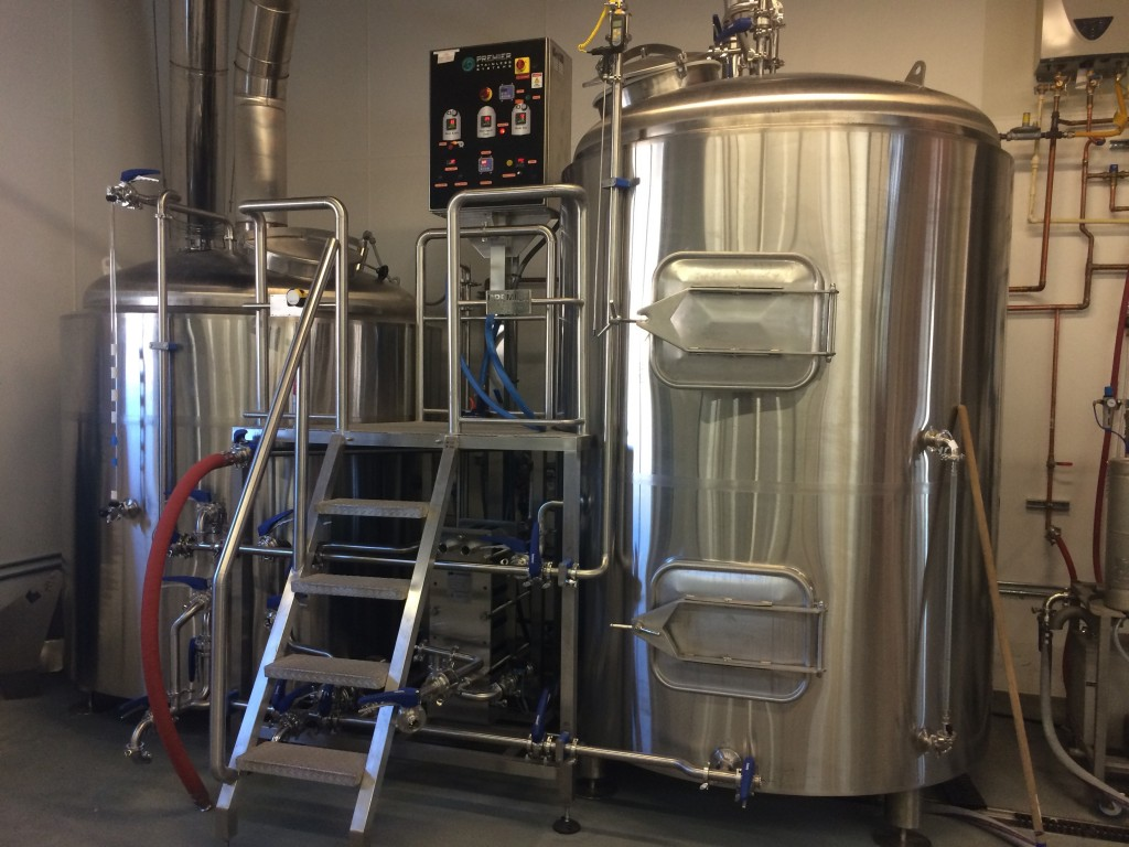Reuben's Brews New 15 BBL Brewhouse