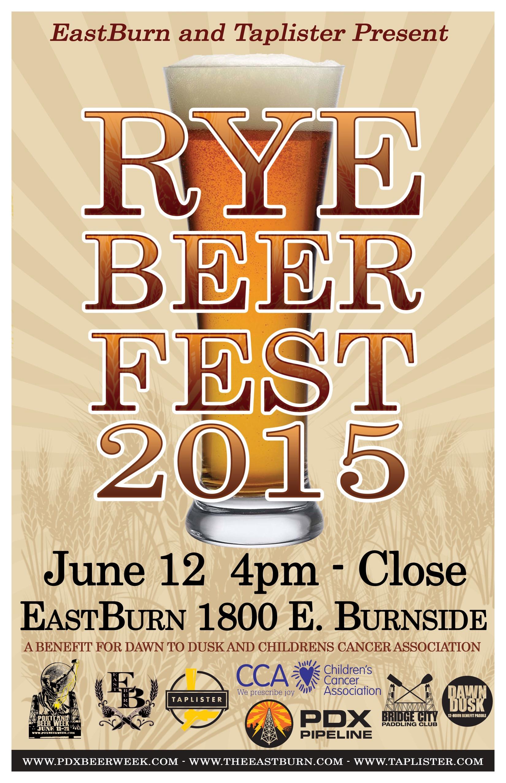 Rye Beer Fest 2015 Poster
