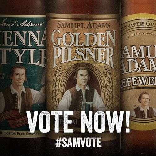 Samuel Adams Vote