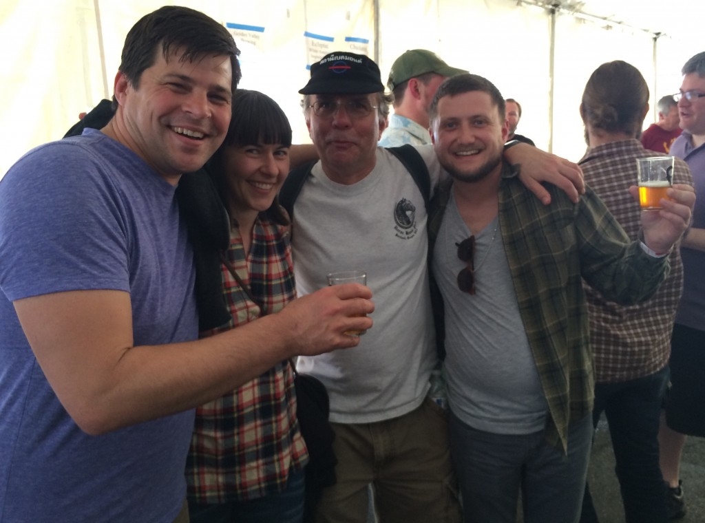 The Bailey's Taproom Crew and Carl Singmaster of Belmont Station at FredFest
