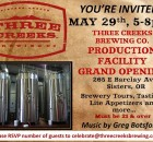 Three Creeks Production Facility Grand Opening