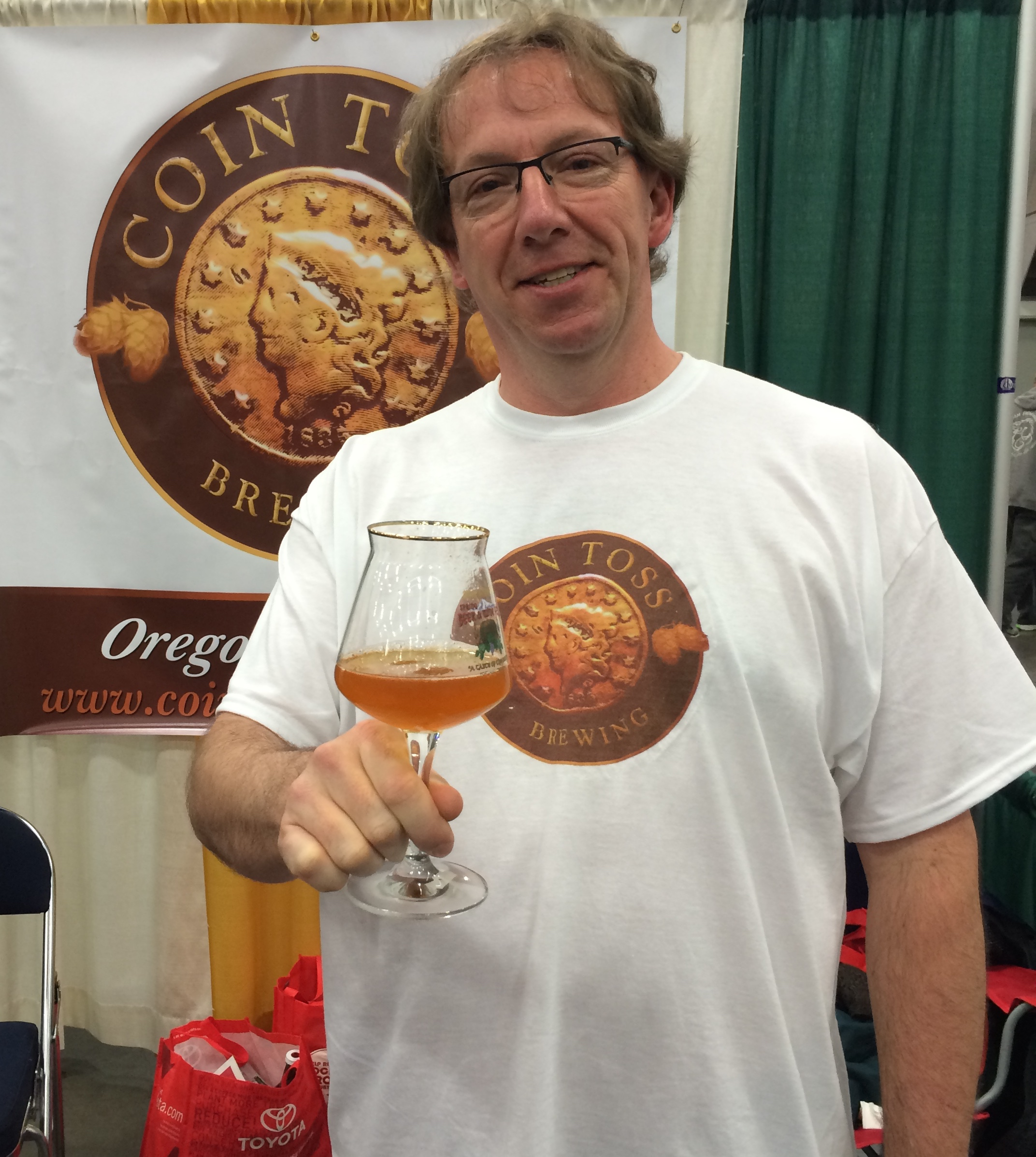 Tim Hohl of Coin Toss Brewing