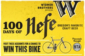Widmer 100 Days of Hefe Bike Giveaway