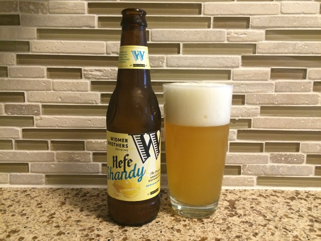 Widmer Hefe Shandy Pour