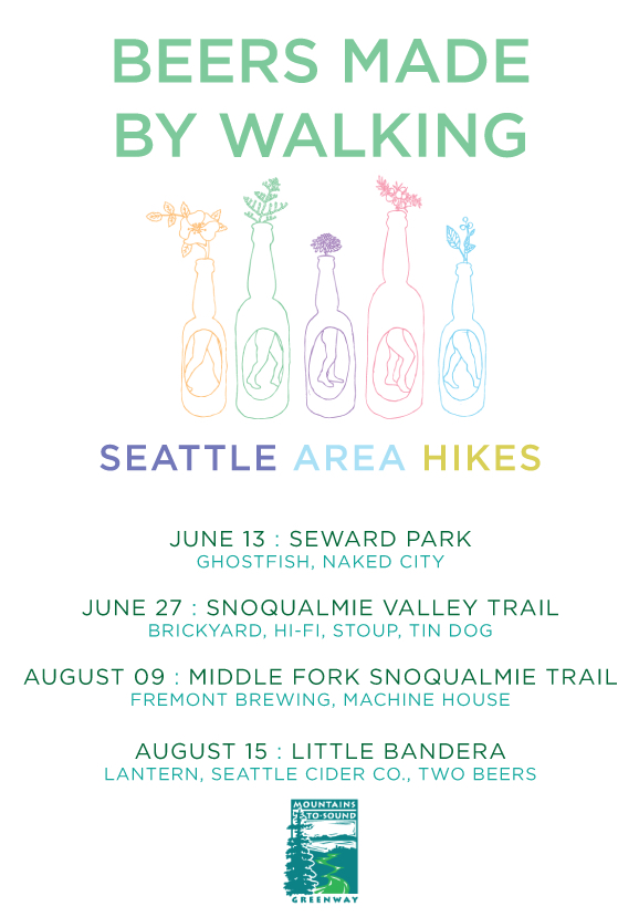 2015 Beers Made By Walking Seattle Area Hikes