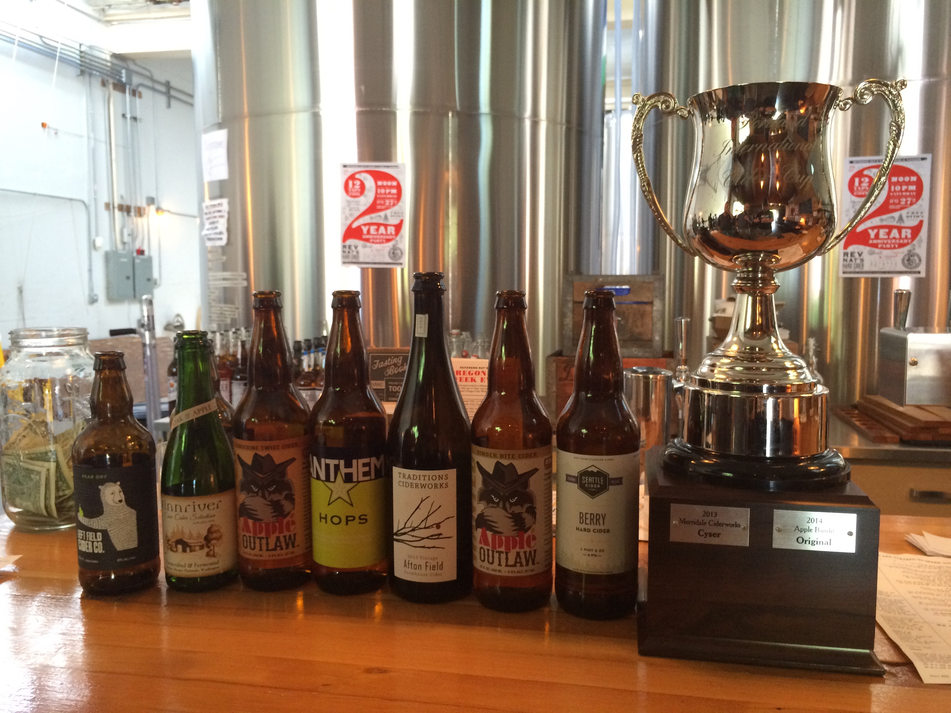 2015 Portland International Cider Cup Gold Medal Winners