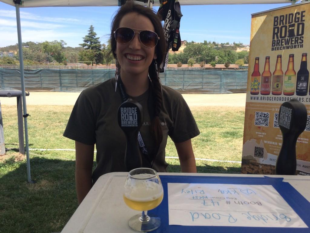 Australia's Bridge Road Brewers at 2015 Firestone Walker Invitational Beer Fest