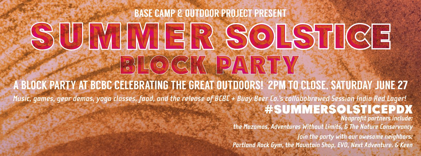 Base Camp Brewing Company Summer Solstice 2015