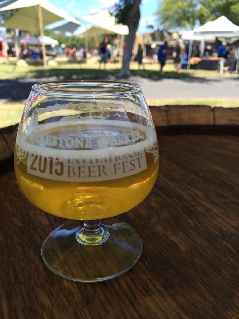 Bells Brewery The Oarsman at 2015 Firestone Walker Invitational Beer Fest