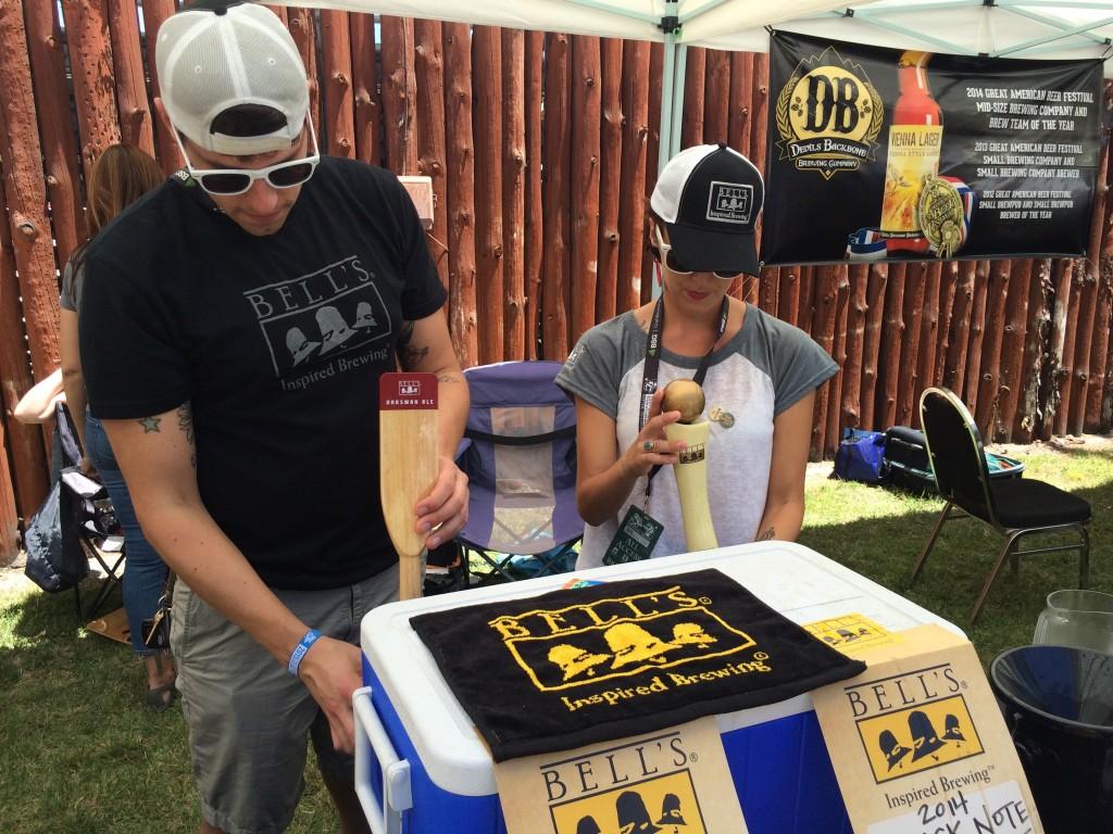 Bells pouring at 2015 Firestone Walker Invitational Beer Fest
