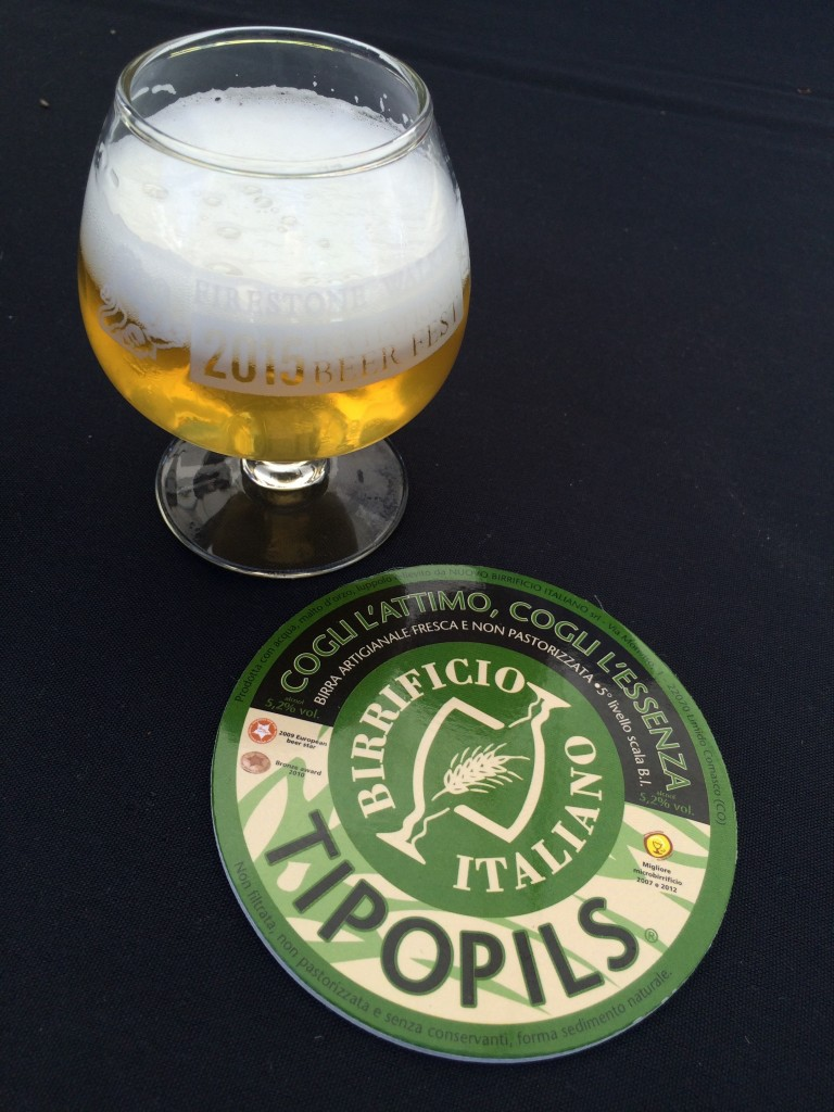 Birrificio Italiano Tipopils at 2015 Firestone Walker Invitational Beer Fest