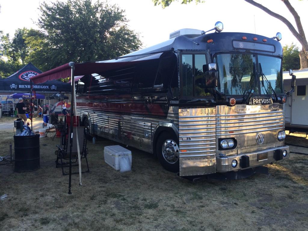 Boneyard Bus at 2015 Firestone Walker Invitational Beer Fest Brewers Camp