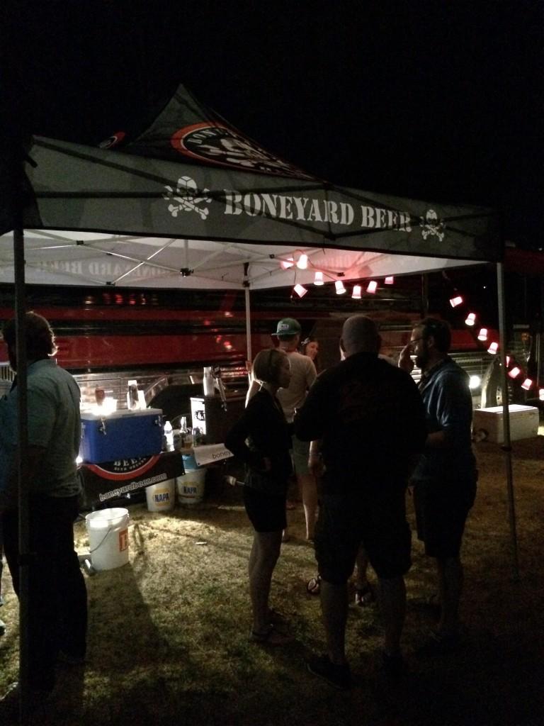 Boneyard Bus at 2015 Firestone Walker Invitational Beer Fest Brewers Campground