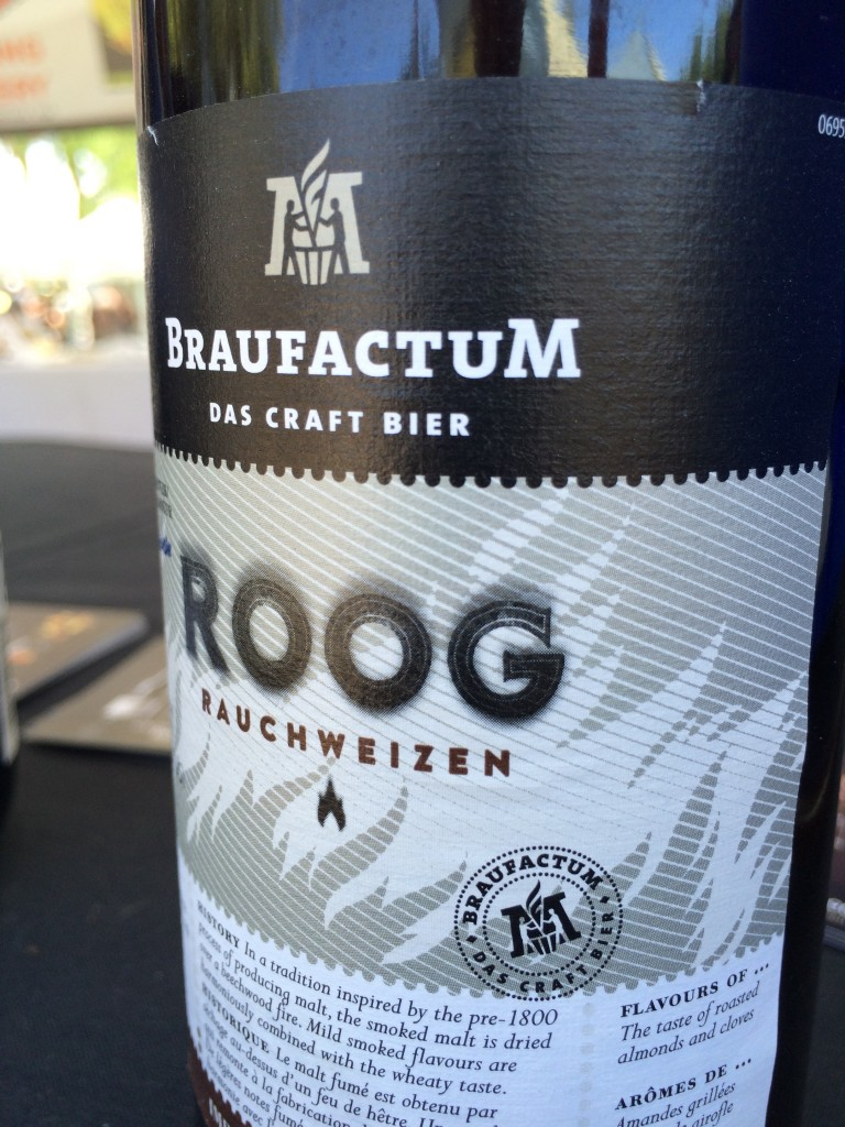 BraufactuM Roog at 2015 Firestone Walker Invitational Beer Fest
