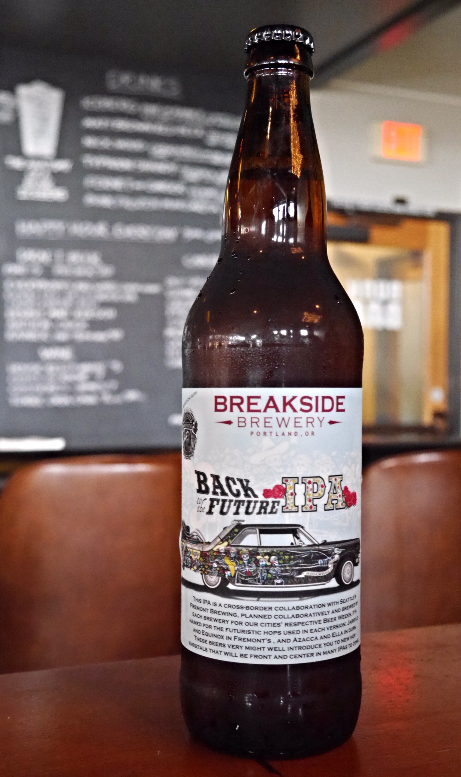 Breakside & Fremont Back to the Future IPA (photo by Cat Stelzer)
