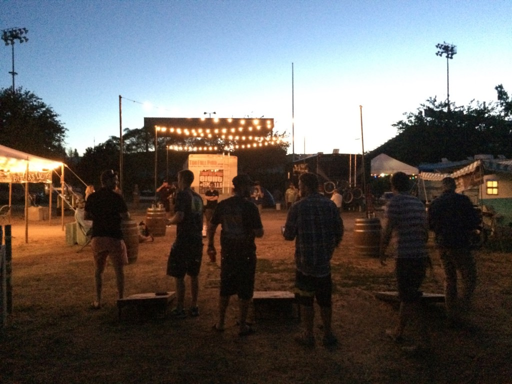 Brewers Campground at Firestone Walker Invitational Beer Fest