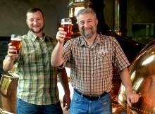 Brian Grossman & Ken Grossman (photo courtesy of Sierra Nevada Brewing Co.)