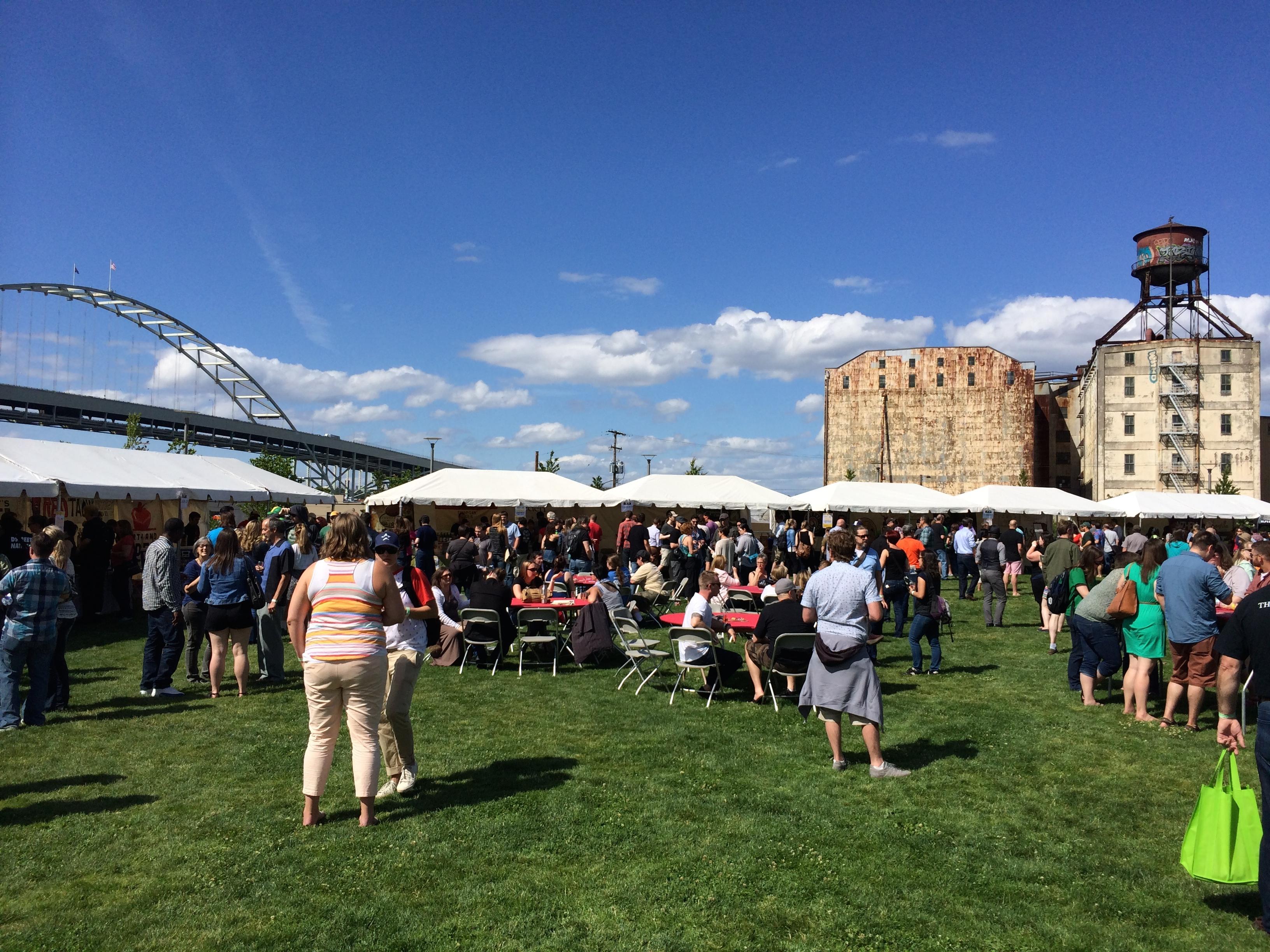 Cider Summit PDX at Fields Park.