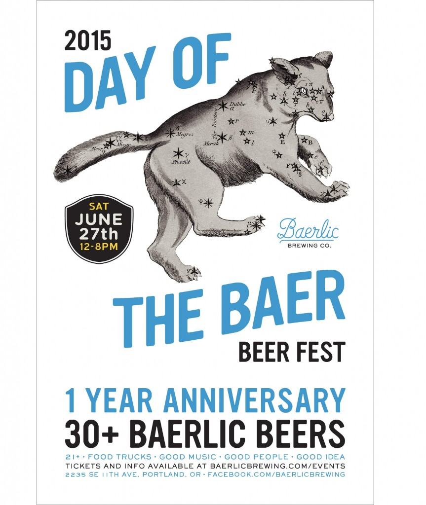 Day of the Baer digital poster
