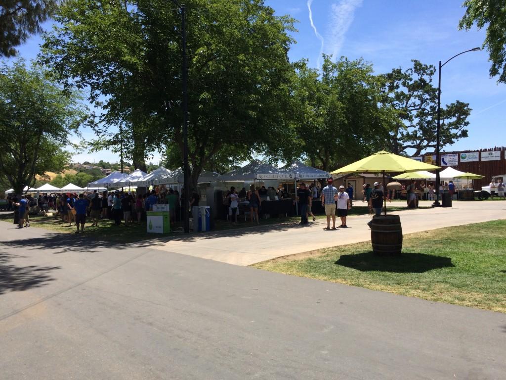 Festival Grounds at 2015 Firestone Walker Invitational Beer Fest