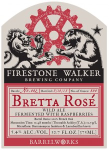 Firestone Walker Bretta Rose Label