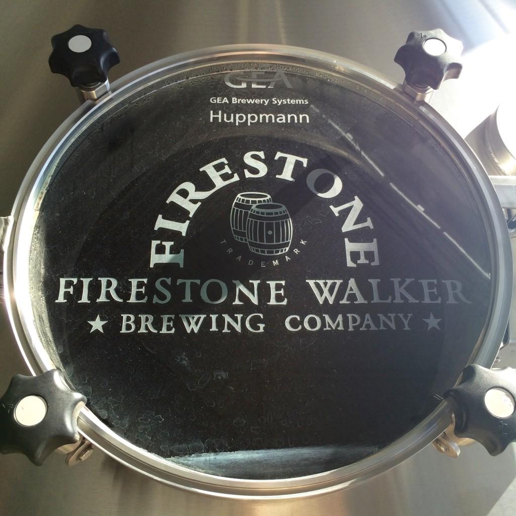 Firestone Walker Brewery Lid