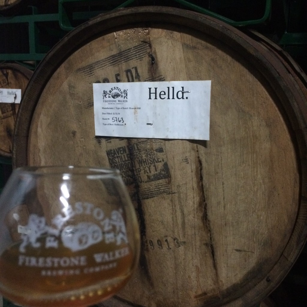 Helldorado straight from the barrel at Firestone Walker