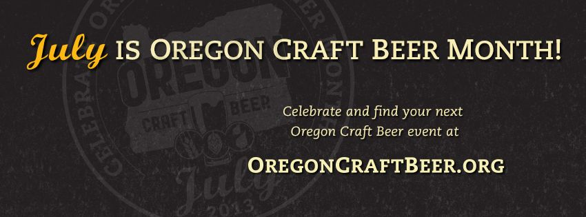 July is Oregon Craft Beer Month
