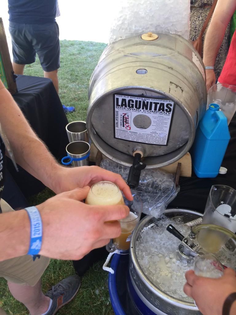 Lagunitas Pouring Mango Daytime at 2015 Firestone Walker Invitational Beer Fest