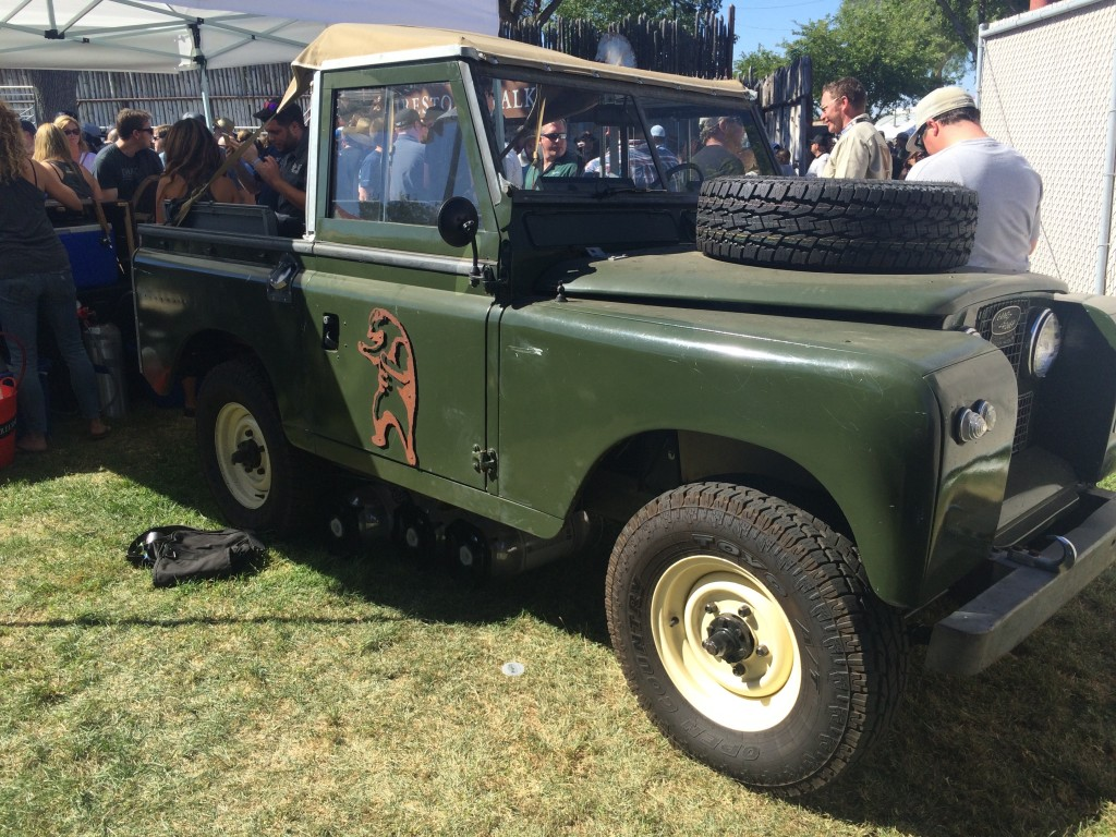Land Rover at 2015 Firestone Walker Invitational Beer Fest