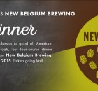 New Belgium Elephants Beer Dinner