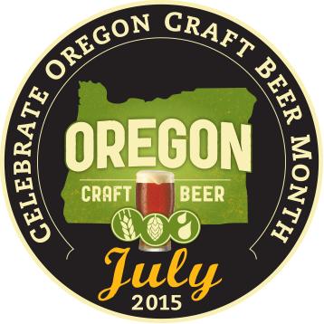 Oregon Craft Beer Month July 2015