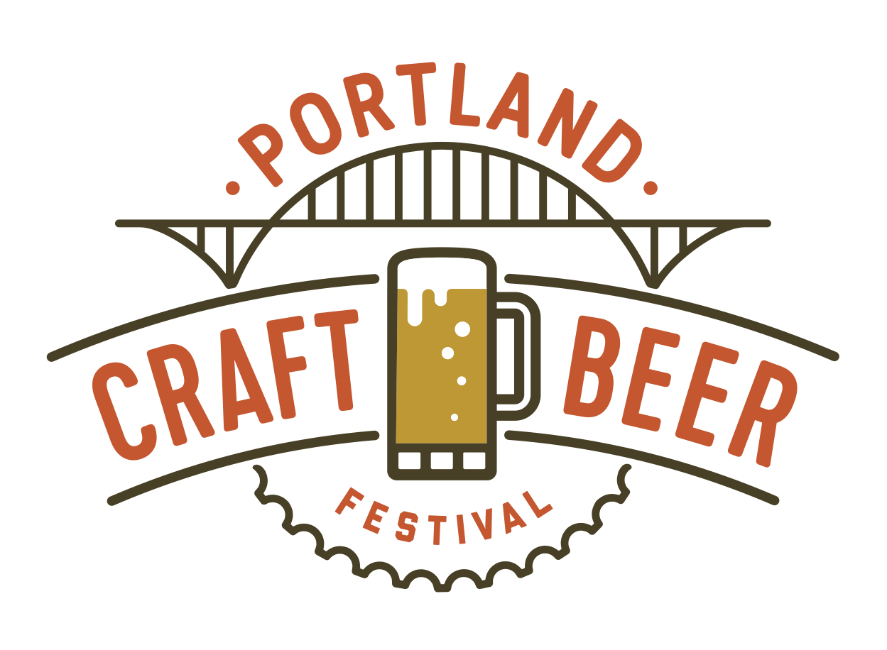 Portland Craft Beer Festival Color Logo