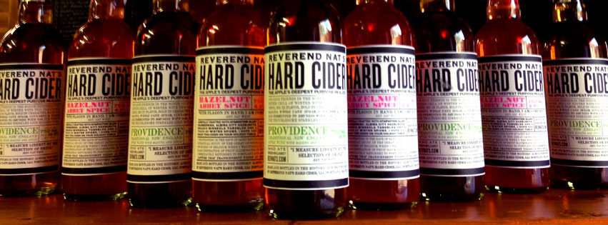 Rev Nat's Hard Cider Bottle Lineup