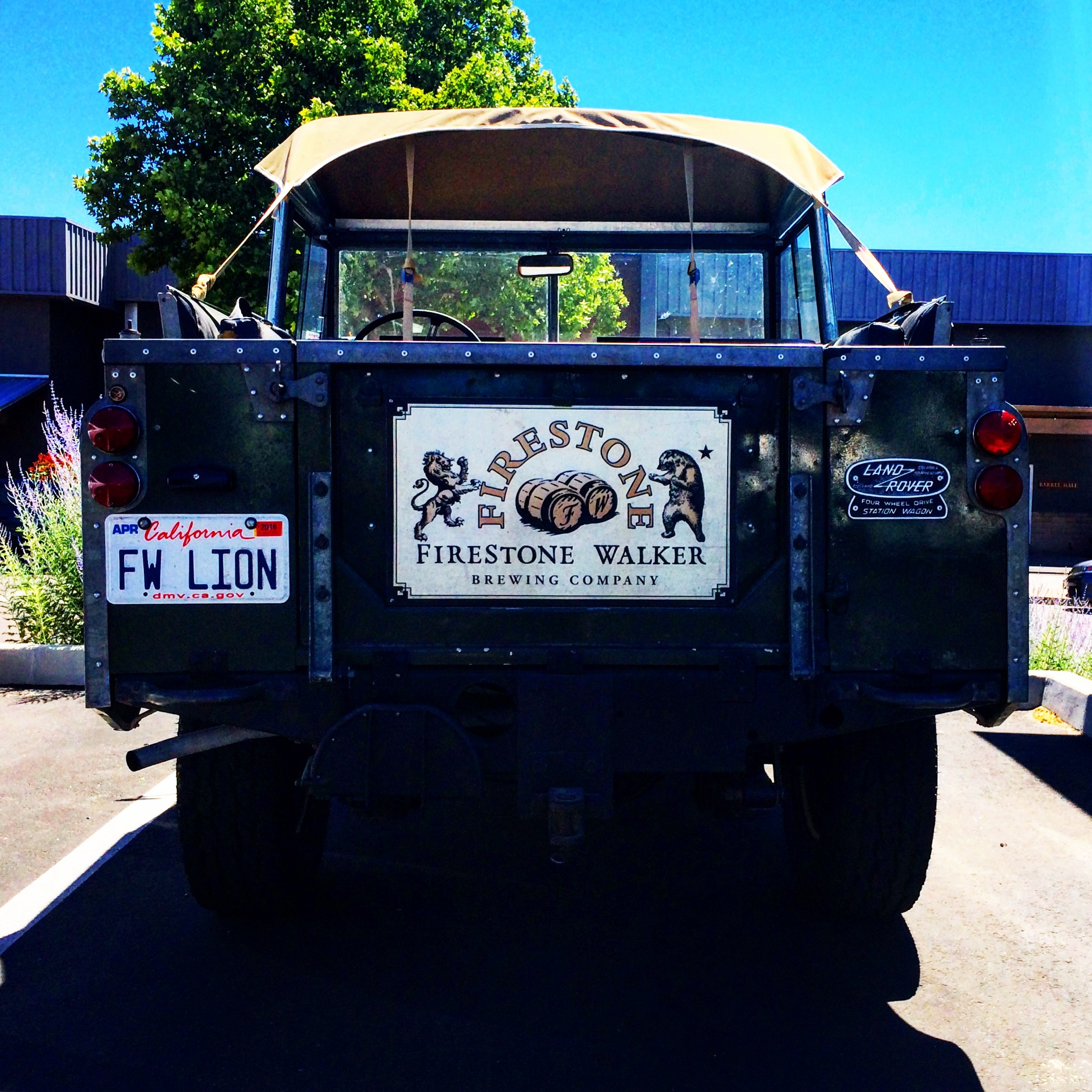 The Lion's Land Rover - David Walker of Firestone Walker