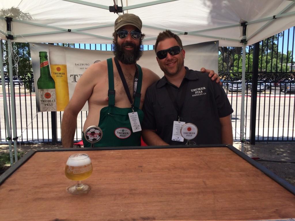 Trumer Pils at 2015 Firestone Walker Invitational Beer Fest