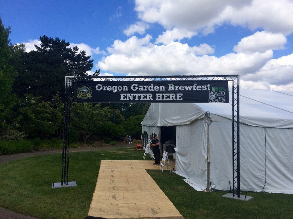 Welcome to the Oregon Garden Brewfest