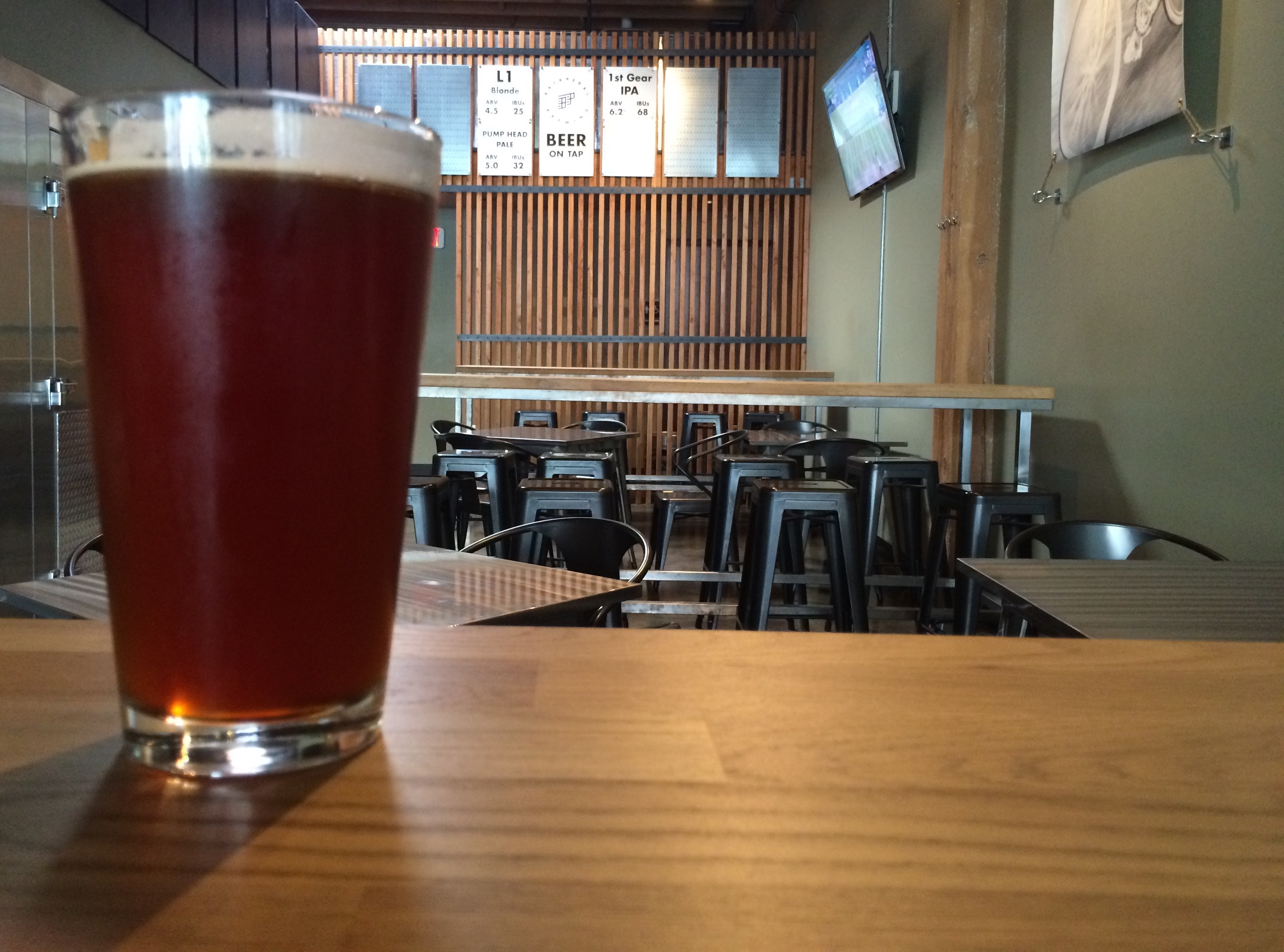 1st Gear IPA at BackPedal Brewing