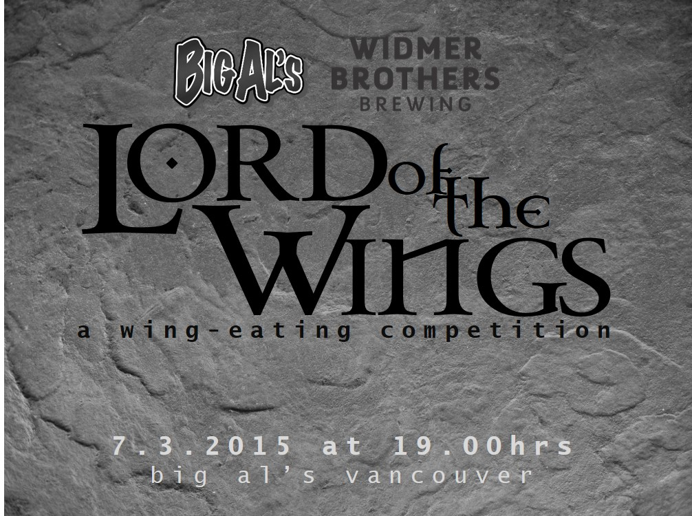 2nd Annual Big Al's & Widmer Brewing Lord of the Wings Wing-Eating Competition