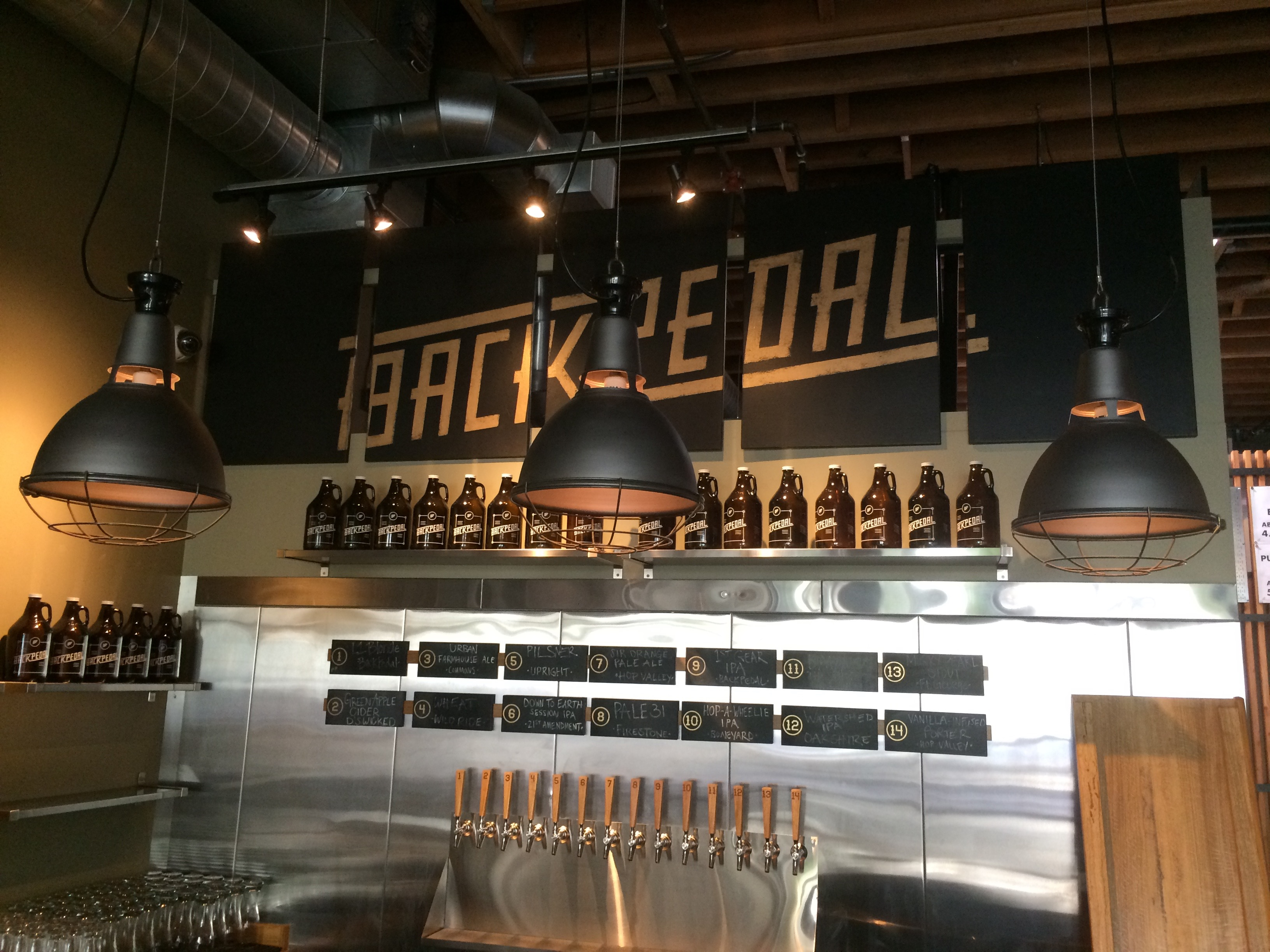 BackPedal Brewing Bar
