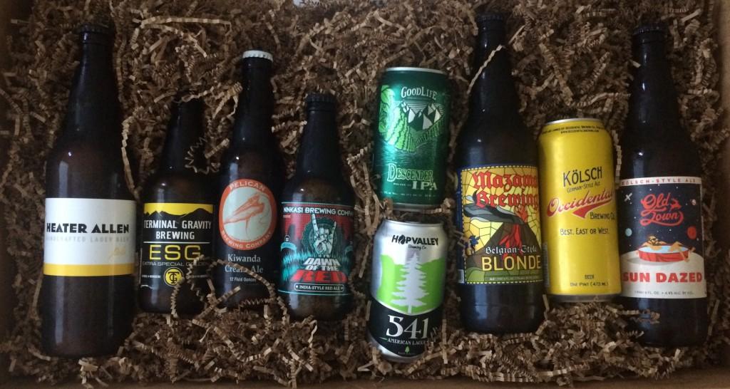 Beers in the 3rd Annual New Seasons Neighborhood Craft Beer Challenge
