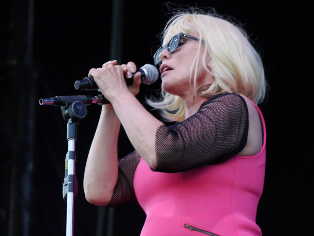 Blondie and Debbie Harry at Project Pabst 3 (photo by Cat Stelzer)