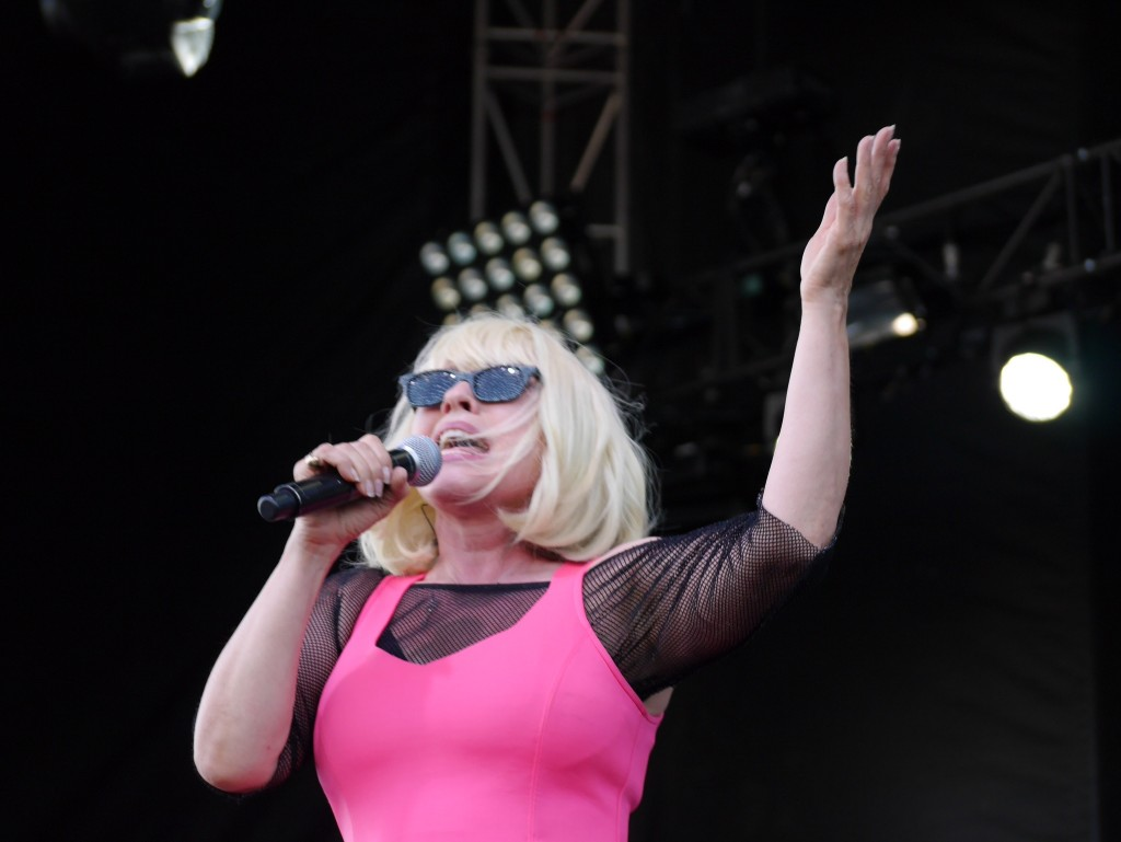 Blondie's Debbie Harry at Project Pabst (photo by Cat Stelzer)