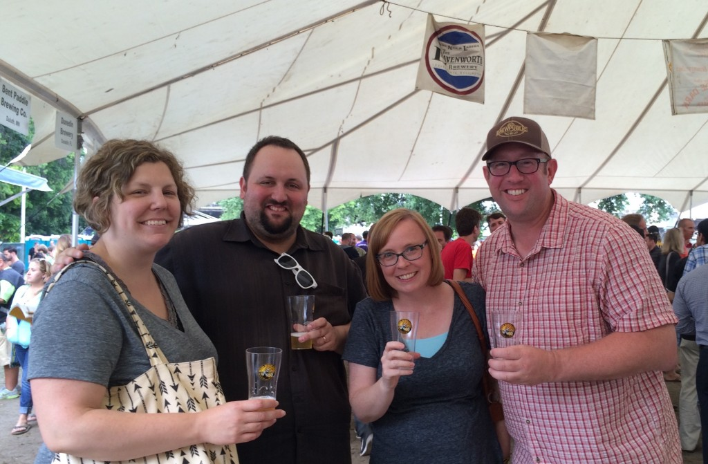 Brewpublicans that samples all unique beers at teh 2015 Oregon Brewers Festival