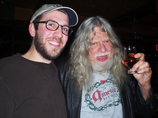 Elysian & Double Mountain Event at Horse Brass Pub with Angelo and Don Younger