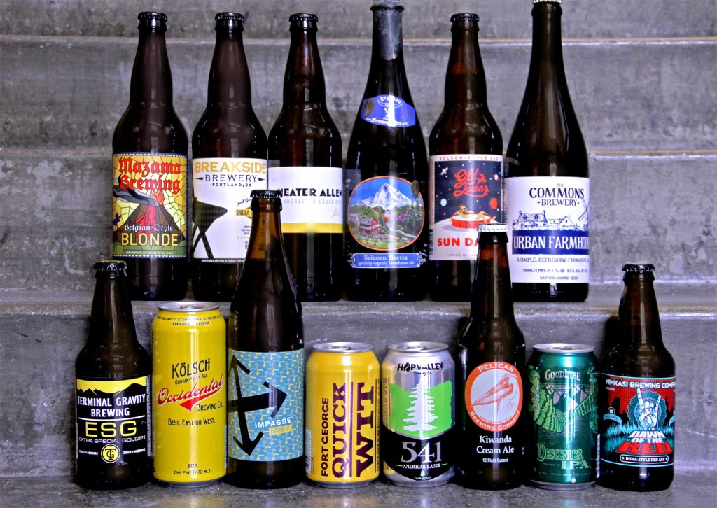 Finalists in the 3rd Annual New Seasons Neighborhood Craft Beer Challenge