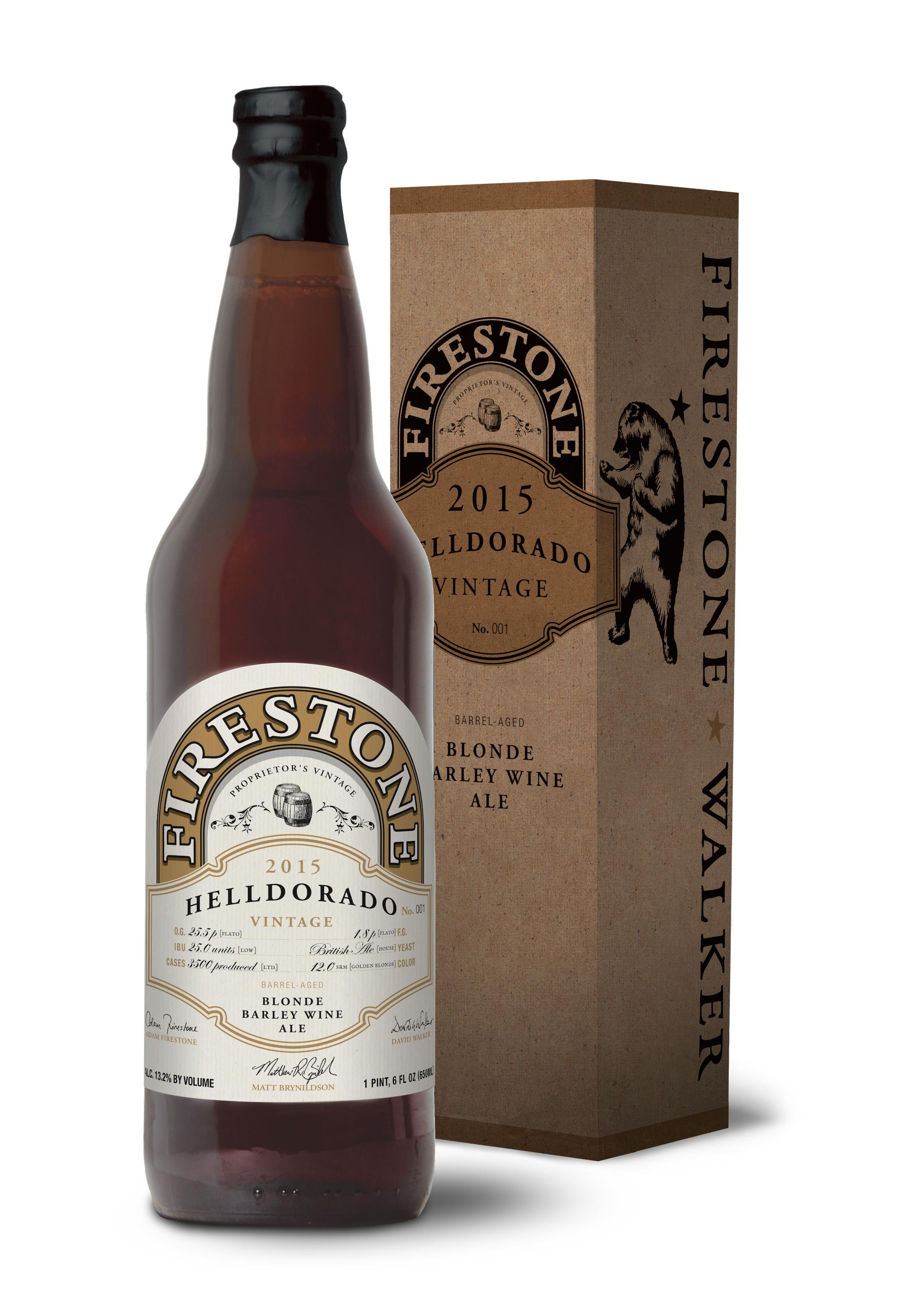 Firestone Walker Helldorado 2015 22oz Bottle Box