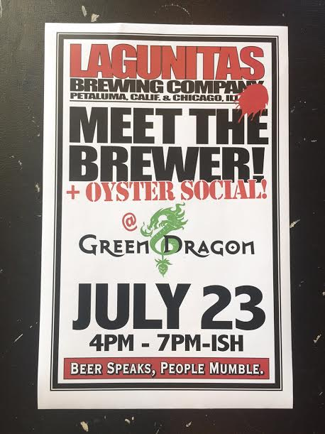 Lagunitas Oyster Social Meet the Brewer