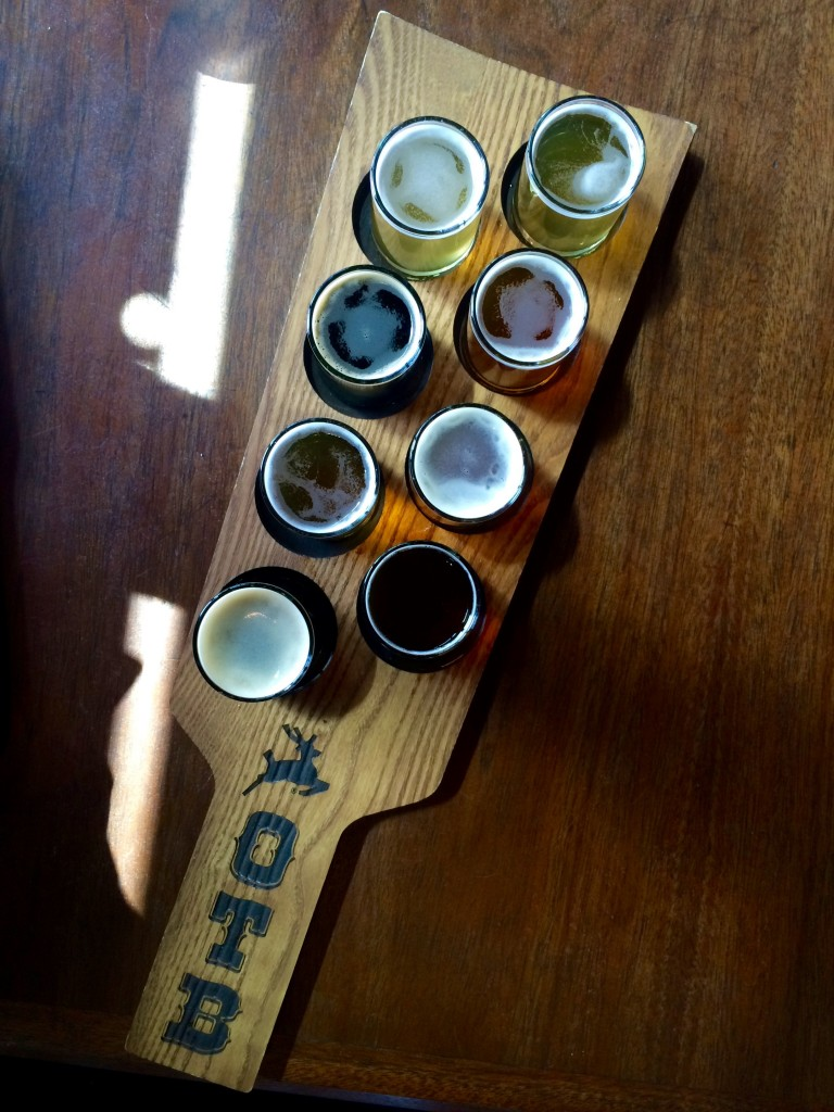 Old Town Brewing 8 Beer Sample Tray